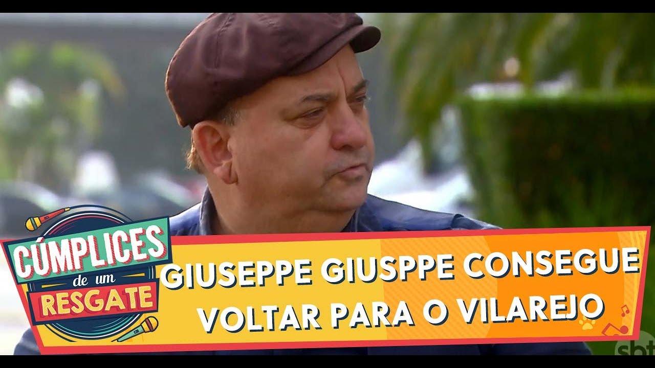 Giuseppe Giusppe consegue voltar para o vilarejo | Cúmplices de Um Resgate (11/02/20)