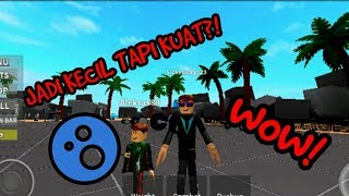YOUNG CHILDREN WROTE MUSCULAR | ROBLOX INDONESIA GAMEPLAY