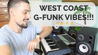 IT'S A CLASSIC!! Making a West Coast/G-Funk track in Logic Pro X.