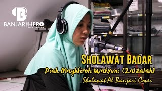Sholawat Badar Banjari Cover Diah Maghfiroh Zalzalah