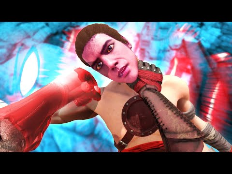 I Stole One Punch Man Powers to Choke and Break People's Necks With in Blades and Sorcery VR Mods |