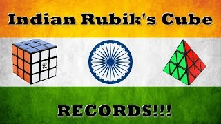 Indian Rubik's Cube Records [ August 2015]