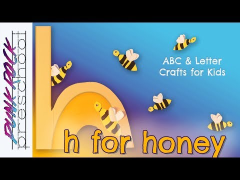 Letter H For Honey Best Abc Crafts For Kids Teachers Fun Letter Abc Activities For Preschool