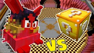 MEGA FURBY VS. LUCKY BLOCK (MINECRAFT LUCKY BLOCK CHALLENGE)