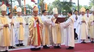 TẠ ƠN TÒA GIÁM MỤC XUÂN LỘC 2012(TGM Leopoldo Girelli Mục Vụ Tại Giáo Phận)