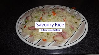 How To Prepare Savoury Rice