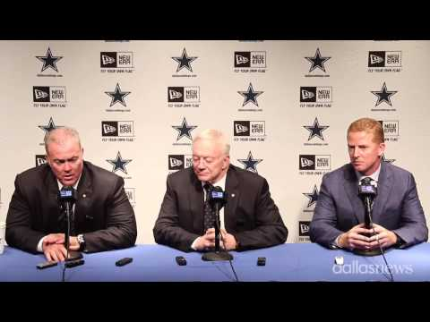 Dallas Cowboys 2015 Day Two Draft Press Conference