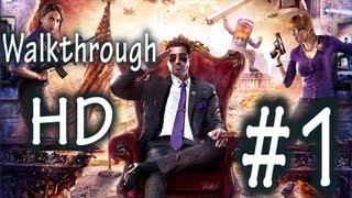 Saints Row 4 (IV)-Solo Campaign-Walkthrough-Part 1 HD