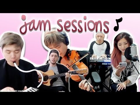 JAM SESSIONS  EP 01 ft sleightlymusical, TJ Brown, rikognition