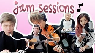 JAM SESSIONS - EP. 01 (ft. sleightlymusical, TJ Brown, rikogni…
