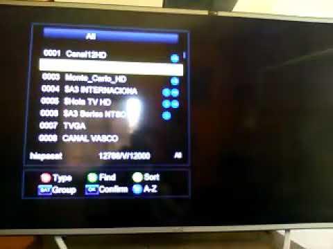 Fta canales libres de Uruguay ahora x hispasat