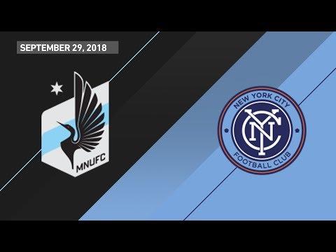 HIGHLIGHTS: Minnesota United FC vs. New York City FC | September 29, 2018 thumbnail