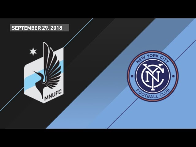 HIGHLIGHTS: Minnesota United FC vs. New York City FC | September 29, 2018