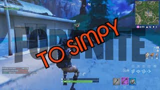 Fortnite Battle Royal Best Moments - TO SIMPY & Playing With IOS Players