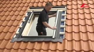 монтаж мансардного окна RotoQ(Как правильно установить мансардное окно., 2016-02-23T13:59:44.000Z)