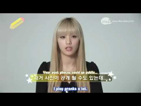 [SchoolSubs] After School Nana - THE STAR Interview