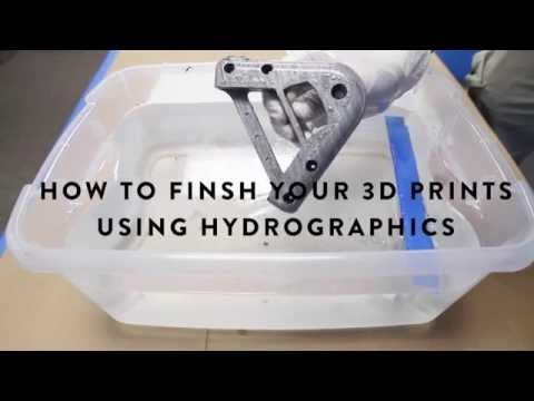 How To Finish Your 3D Prints Using Hydrographics