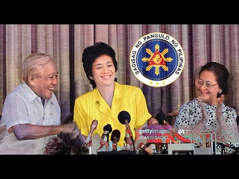 CORAZON AQUINO: Announcement of Candidacy for President of the Philippines | 3 December 1985