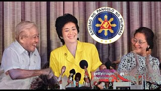CORAZON AQUINO: Announcement of Candidacy for President of the Philippines | December 3, 1985