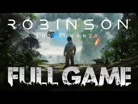 Robinson The Journey FULL GAME Quick Walkthrough PSVR (PS4 VR) No Commentary