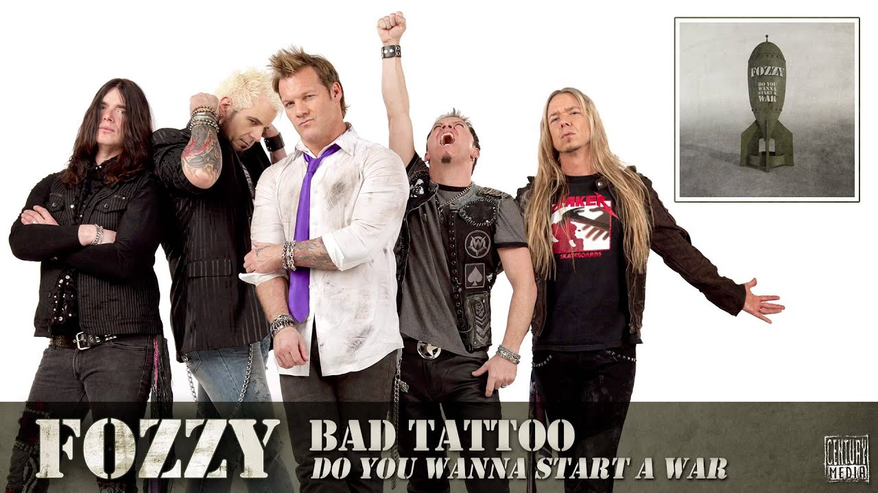 Chris jericho fozzy tattoo