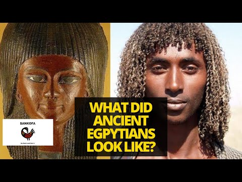What Did Ancient Egyptians Look Like   Ancient Egyptians   African History   White and Black