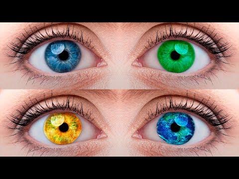 Как поменять цвет глаз в Photoshop.Уроки Photoshop.