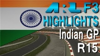 F1 2012 | ARL F3 - S6 Round 15 - Indian Grand Prix (Commentary)