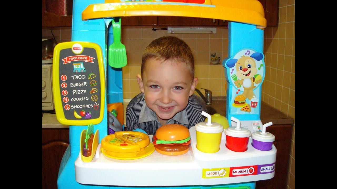 Fisher Price Fun Food Truck