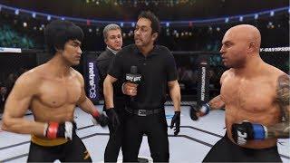EA Sports UFC 3 Bruce Lee vs Joe Rogan