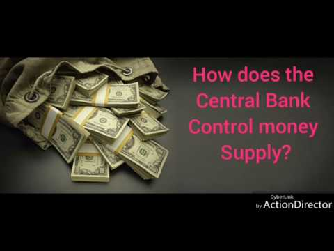 How central bank control money supply /Banking / macro economics / class 12/ CBSE board