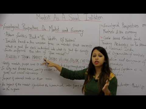Market as a Social Institution _ Part1 _ Sociological Perspective _ Tanvi Topwal