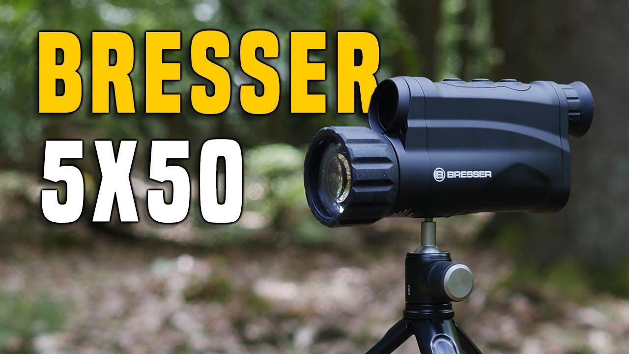 Bresser 5x50 digital nachtsichtgerät testbericht gear review youtube