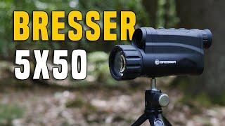 Nachtsichtgeräte #1 BRESSER 5x50 Digital Review GERMAN + (ENGLISH SUBTITLES)