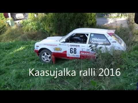 Kaasujalka Ralli 2016 (crash & Action)