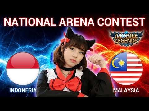 INDONESIA VS MALAYSIA - National Arena Contest Cast by Kimi Hime - 30/12/2017