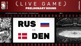 Russia - Denmark | Live | Group A | 2021 IIHF Ice Hockey World Championship