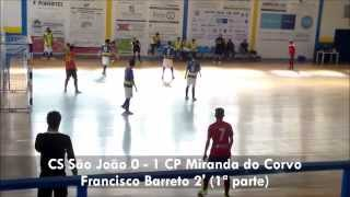 Juvenis (Campeonato AFC): CS São João 4-2 CP Miranda do Corvo