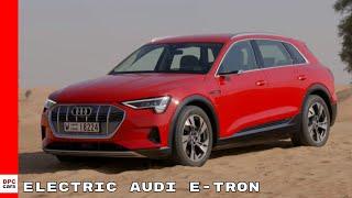 2019 Audi e-tron Electric SUV Caralunya Red