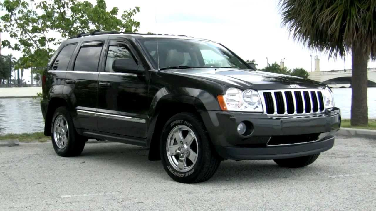 2005 jeep grand cherokee 4x4 limited youtube. Black Bedroom Furniture Sets. Home Design Ideas