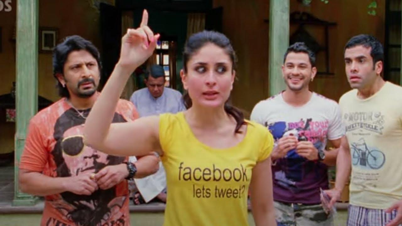 Golmaal 3 - Most Comedy Scenes - Arshad Warsi, Kunal Khemu, Kareena Kapoor, Ajay Devgn &
