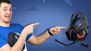 ДА ЛАААААДНО? ✔ Обзор Игровых Наушников ASUS STRIX Wireless