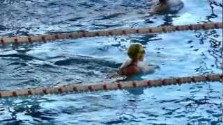 Natacion 100 m. Estilos Pre-Benjamines Femenino Tudela 31 03 2012