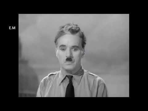 The Final Speech from The Great Dictator ( lyrics)