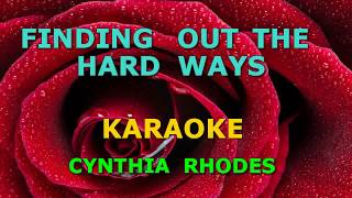 FINDING OUT THE HARD WAY KARAOKE
