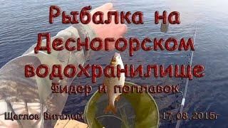 Риболовля на Десногорском водосховище. Фідер і поплавок.