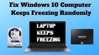 Fix Windows 10 Computer Keeps Freezing Randomly