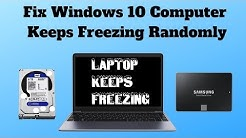 Fix Windows 10 Computer Keeps Freezing Randomly