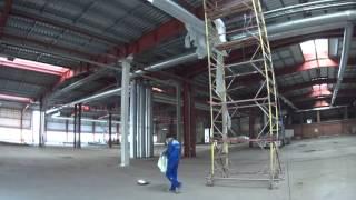 Огнезащита металлоконструкций с использованием огнезащитных красок на органической основе №3(Наша организация в данном видео занимается проведением работ по огнезащите несущих металлических констру..., 2016-01-11T20:29:04.000Z)