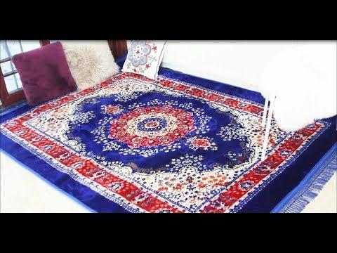 Fluffy Floor Rug Door 2019 Flannel Carpet